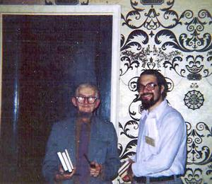 Bob and Frank Belknap Long.